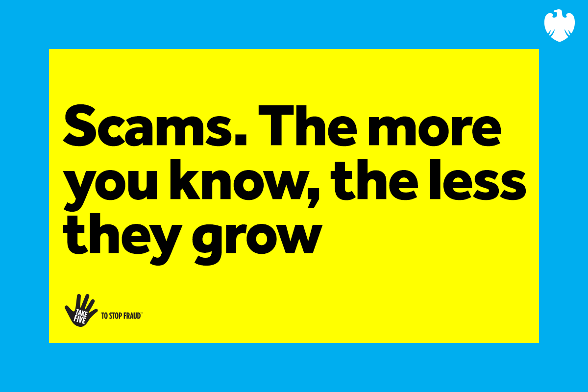 Scams. The more you know, the less they grow